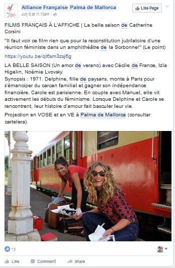 AFPalma de Mallorca - post FB