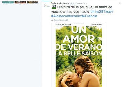 Atout France Tweet
