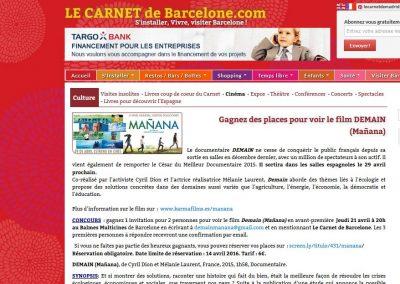 Le Carnet Barcelone